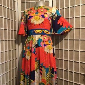 Vintage Designer 1960s Dress